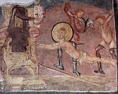 OmoGirando la Crypta Balbi. Il Martirio di Sant'Erasmo.
