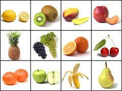 alérgenos frutas