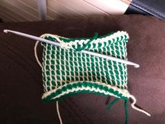 Crochet double tête