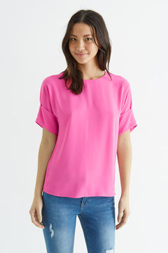 Oasis Pink Woven Top