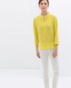 Yellow Blouse Zara