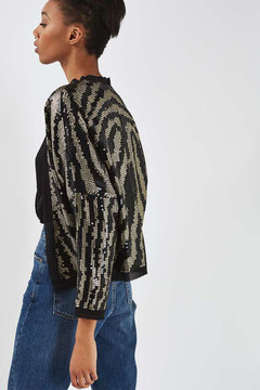 Topshop sequin jacket