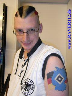 ,Kache,Carsten,Kaltenkirchen,Raver 112,HSV Tattoo,Deutschland Tattoo