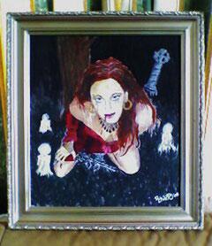 Acrylic on paper - ca 50 x 30 cm