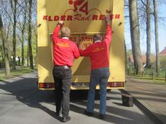 Ende einer Kelder-Rad-Reise - Tschüss bis 2012!