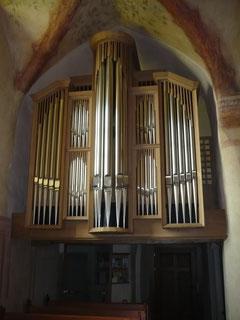 Orgel in Bergheim, Prospekt