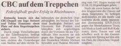 Wuppertaler Rundschau Bericht vom 15.06.2005 DRLT