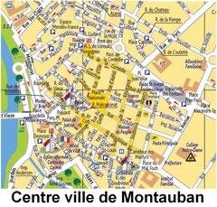Centre ville de Montauban