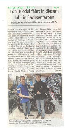 Wochenspiegel Rochlitz 27.02.2013