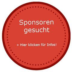 Kreis mit Hinweis auf Sponsorensuche