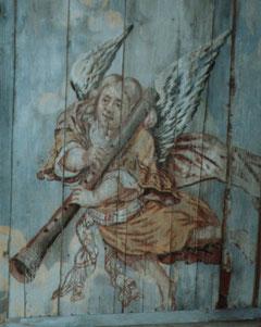 musizierender Engel, St. Jacobi, Lüdingworth