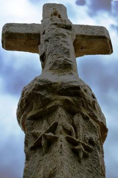 La Vierge au verso du croisillon