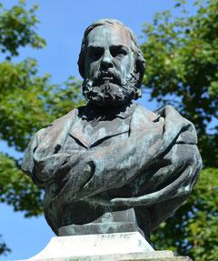 Le buste de Jules Barni