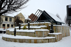 La fontaine de la place Thélu