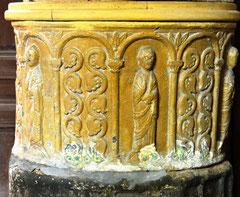Berneuil- Sculptures de saint Pierre