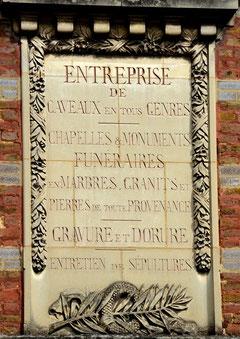 Face au cimetière Saint-Acheul à Amiens