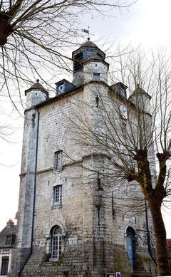 Le beffroi de Sant-Riquier- Vue de l'arrière
