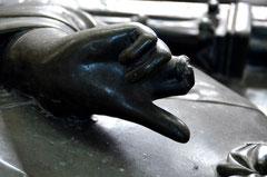 La main de Geoffroy d'Eu