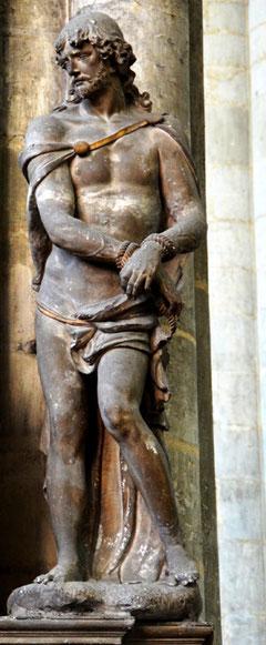 Cathédrale N-D d'Amiens: Monument funéraire d'Antoine de Baillon