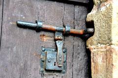 Ferrure de l'ancienne porte du Beffroi