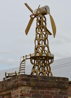 Le moulin  de la ferme de Bronfay
