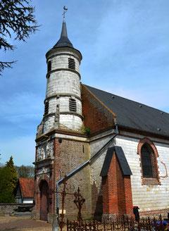 L'église de Millencourt-en-Ponthieu