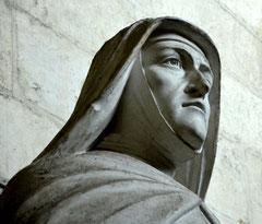 Le visage de sainte Colette