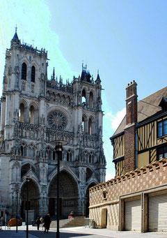 La Cathédrale vue de la rue André
