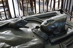 Le gisant de Geoffroy d'Eu