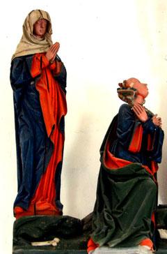 La Vierge Marie et Marie-Madeleine
