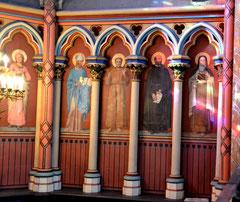 Chapelle du Sacré Coeur- côté droit
