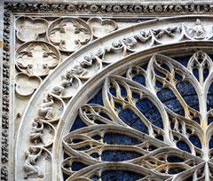 Rosace du Ciel: transept Sud
