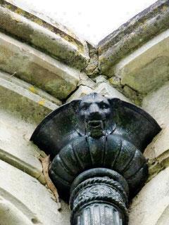 La gouttière de la chapelle- Ph: Rémy Godbert