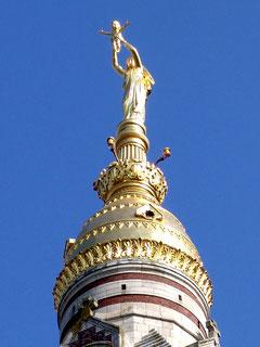 Le dôme de la  basilique d'Albert