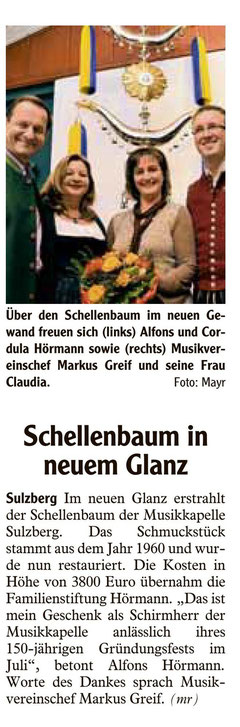 Allgäuer Zeitung vom 24.11.2011
