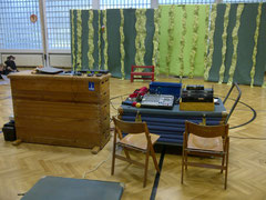 Grundschule am Beeckbach - Probenbild im Musical Sabu
