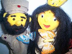 Märchen und Puppen Troll von Catharina Lentes
