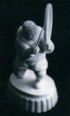 Якутский шаман, резьба по кости