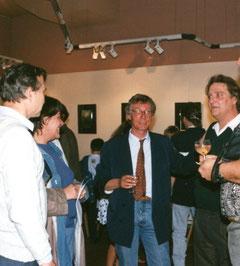 avec le journaliste henri michel magre -1991