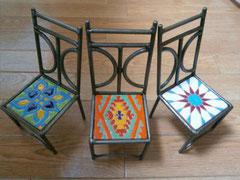 新しい椅子たち