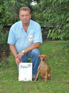 Mein Mann Jörg mit seiner sportlichen Tiffani