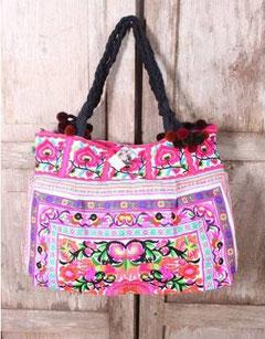 Taschen, Geldbörsen, Clutches - farbenfroh bestickt