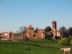 église romane et prieuré d'Anzy le Duc