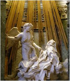 Bernin, Extase de Sainte-Thérèse, Chapelle Cornaro, Santa Maria della Victoria, Rome, copyright : M.Lefftz