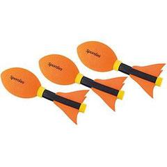 Mini torpedos javelot Vortex de la marque Spordas à lancer. Jeux d'athlétisme enfants.
