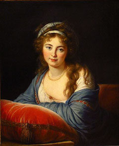 スカヴロンスカヤ伯爵夫人、1796年
