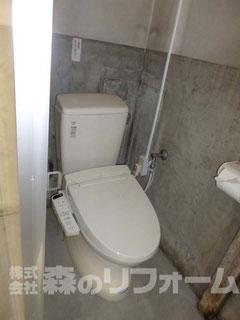 松戸市 トイレリフォーム 和便器から洋便器に変更