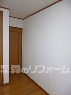 松戸市 間仕切り壁造作リフォーム後
