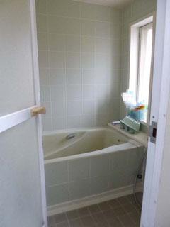 松戸市水まわり浴室リフォーム前