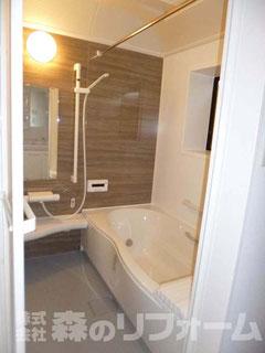 松戸市まるごとリフォーム 浴室リフォーム後